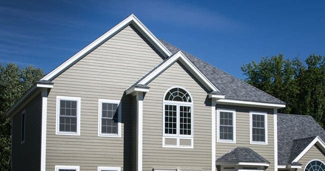 Home with Hardie Plank siding