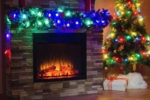 Holiday decorating for home showings