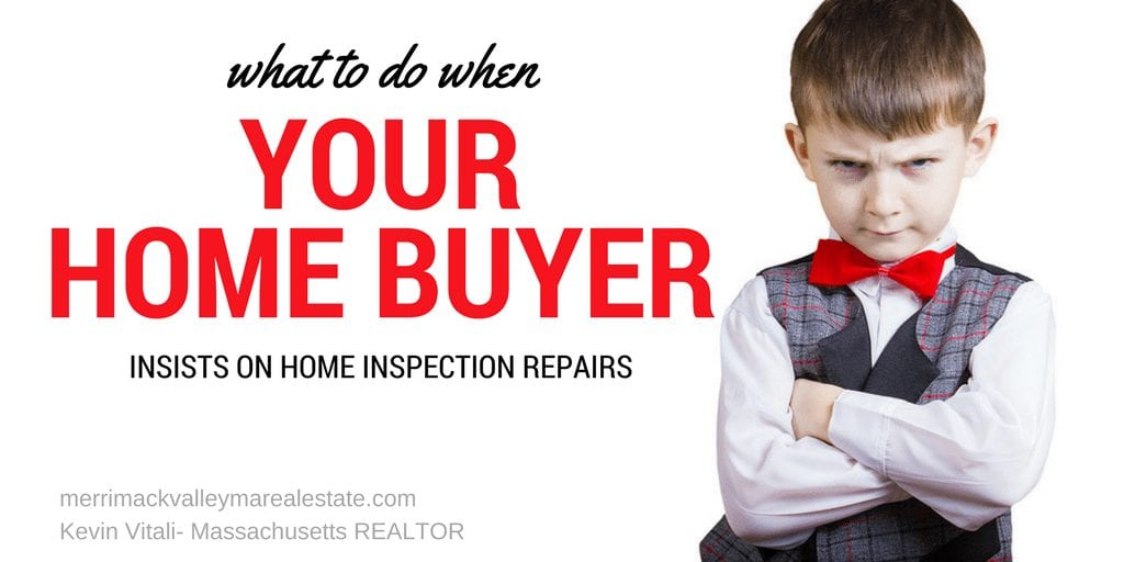 what to do when your home buyers requests for repairs are unreasonable