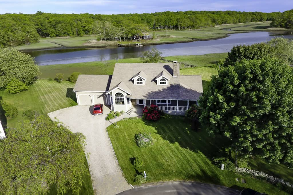 Drone for Real Estate Marketing Aerial View