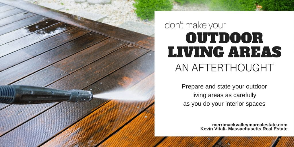 don;t make your outdoor living areas an afterthought