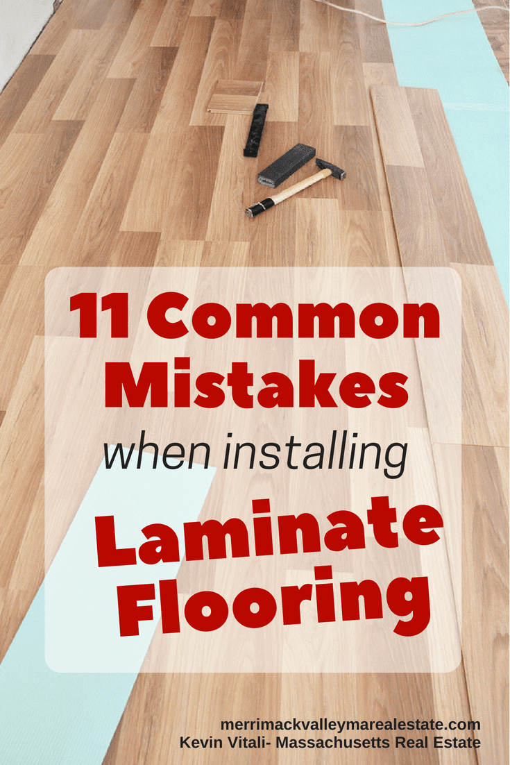 11 Common Mistakes When Installing