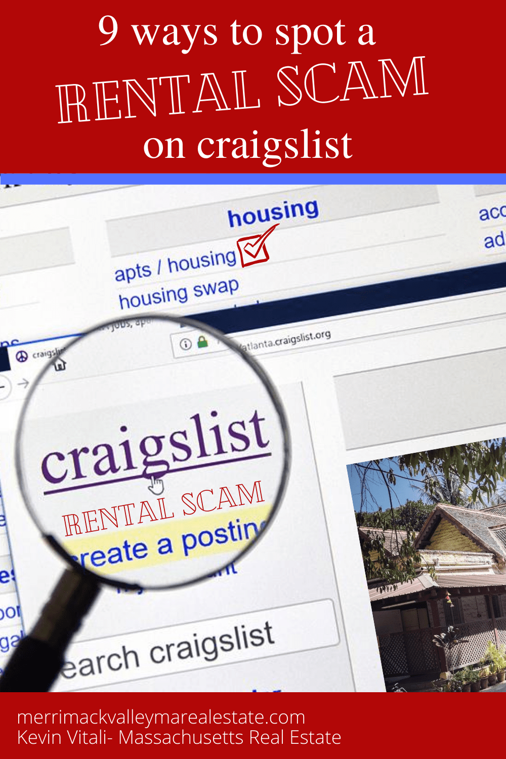 9 Ways to Spot a Rental Scam on Craigslist